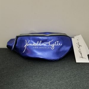 Kendall + Kylie Blue Fanny Pack